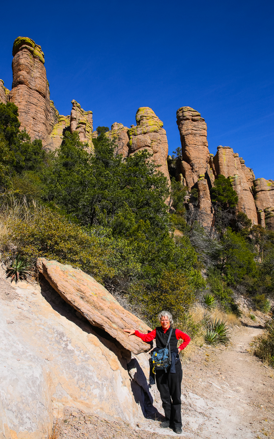 Chiricahua national monument echo canyon into the for Az game and fish draw results 2017